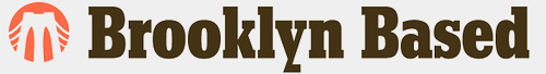 Brooklyn Based gray logo