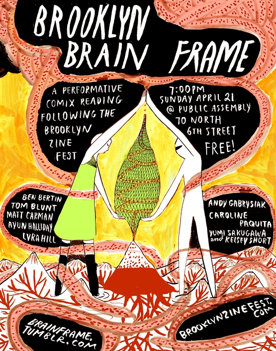 Brooklyn Brain Frame Flyer Small