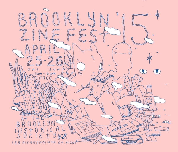Brooklyn Zine Fest Pink
