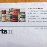 NY Times BZF 2013 - Weekend Arts II Front small