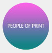 People of Print logo gray